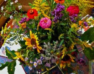 Garden and field flowers